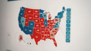 Die US-Wahl spaltet die Amerikaner