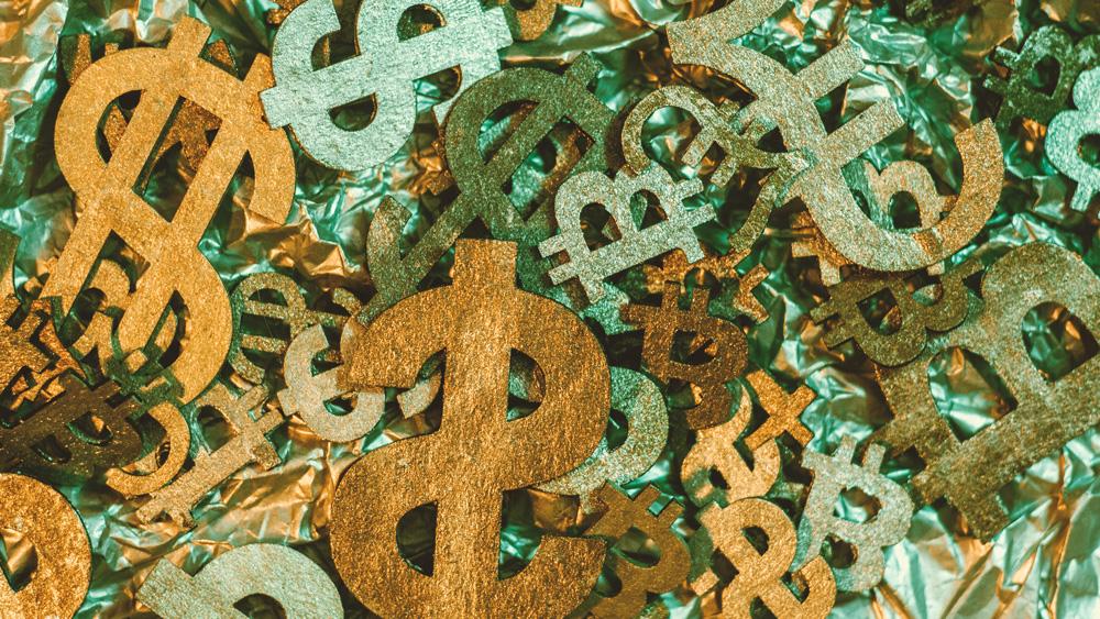US Dollar und Bitcoin